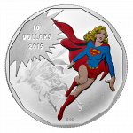 How To Invest In Silver Coins | Supergirl Fine Silver Colored Coin – DC Comics Originals: Unity (2015)